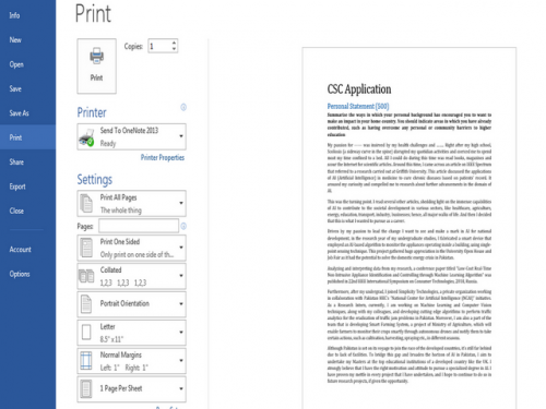 how to print your word documents without comments step 7