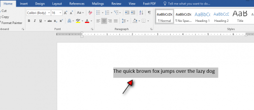 how to arch your text in word tutorial step 7