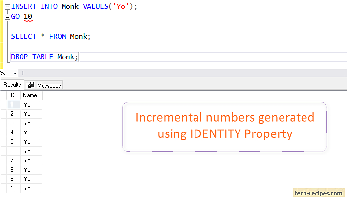 How To Use Set Identity Insert In Sql Server