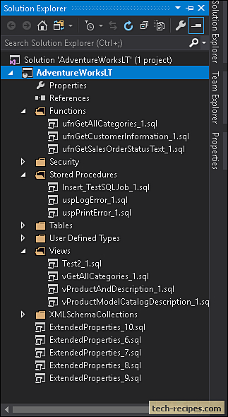 SQL Server Database Project In Visual Studio_6