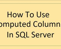 Computed Columns In SQL Server_7