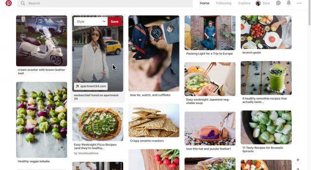 Tuning Pinterest home-feed. in latest 2019 update.
