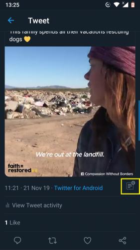 Viewing hidden replies in 2019 updated Twitter.