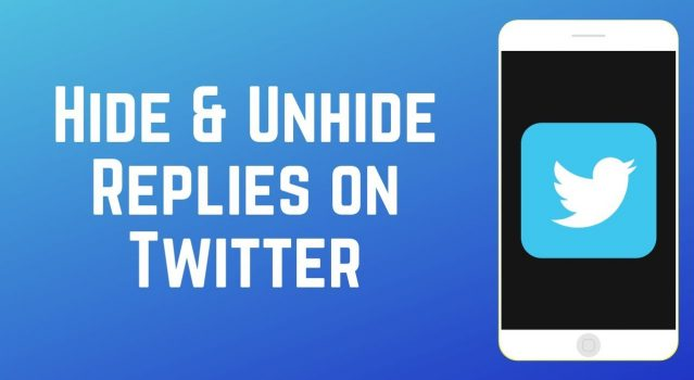 Learn how to hide and unhide replies to tweets with latest feature (Twitter 2019 update).