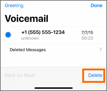 How to Delete Voicemails on iPhone
