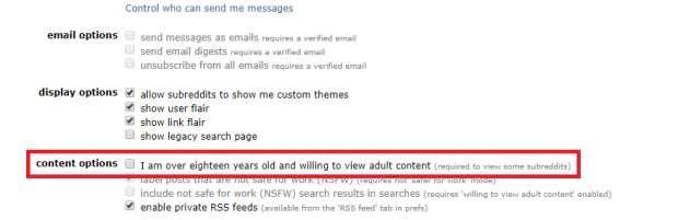 How To Enable Nsfw Content On The Reddit App Get Adult Access