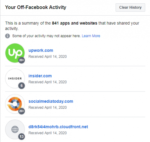 Denying FB Permissions to an App/Website