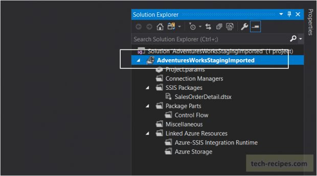 SSIS- How To Export & Import ISPAC File SSISDB - Visual Studio
