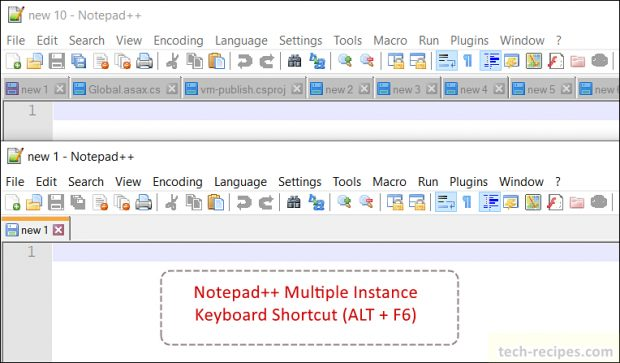 Notepad++ Tips Multiple Instance Notepad++