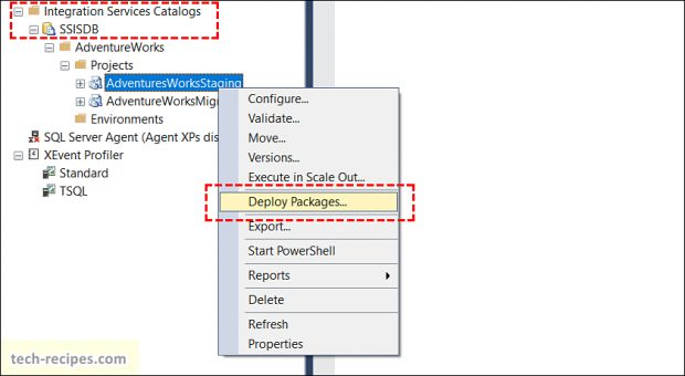 Deploy SSIS Packages & ISPAC File Using SQL Server _5