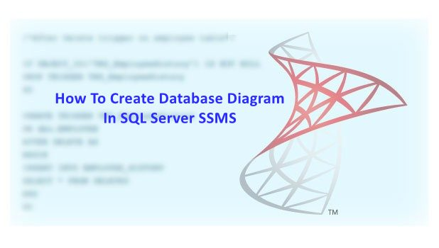 How To Create Database Diagram in SQL Server