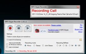 Mp3 Skye Recorder Recording