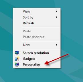 how to choose which icon to show on desktop