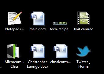 Twitter Desktop Shortcut