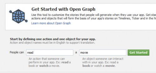 Facebook Open Graph Starter
