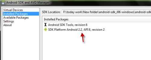 How to install Android SDK without internet connection