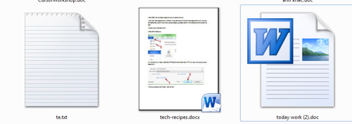save icon documet in word