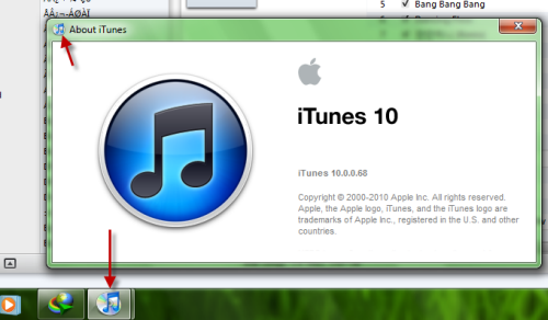 iTunes 10: How to Change the Icon Back to iTunes 9 Version in Windows