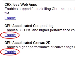 Google Chrome 10: How to Enable Hardware Acceleration
