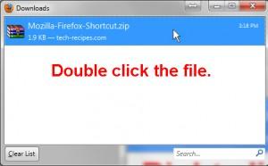 Double Click File