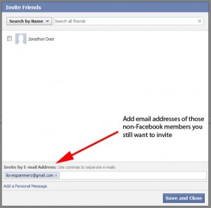 Facebook: How to Invite Non-Facebook Users to Facebook Events (via