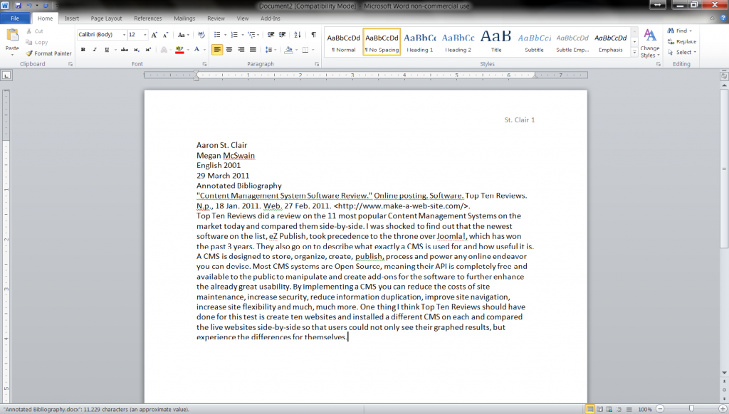 Myself essay 400 words in sign