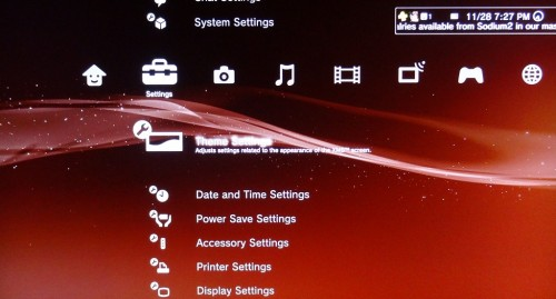 how to install usb hard drive ps3
