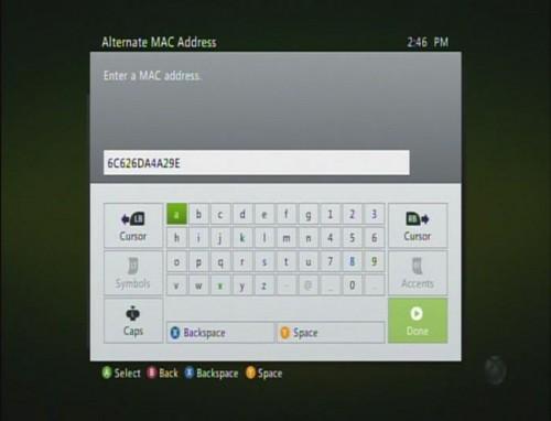 Alternate MAC