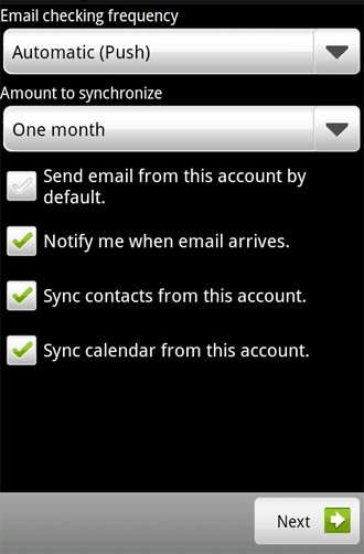 how to set up a hotmail email on android