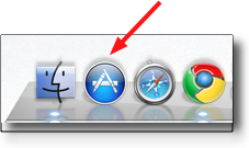 the icon for the mac app store