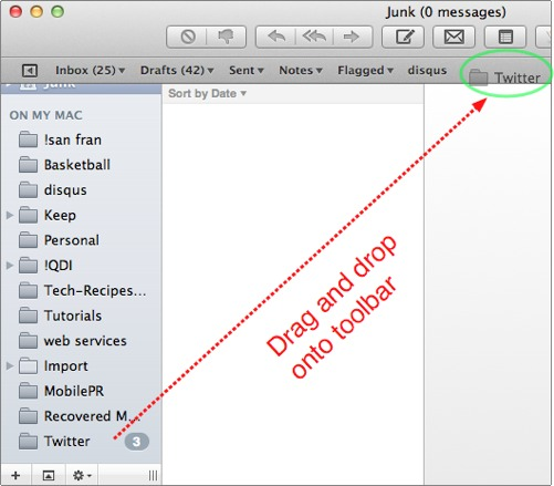 drag and drop from sidebar into new toolbar