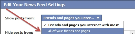 Facebook: How to See Wall Posts from All of Your Friends and