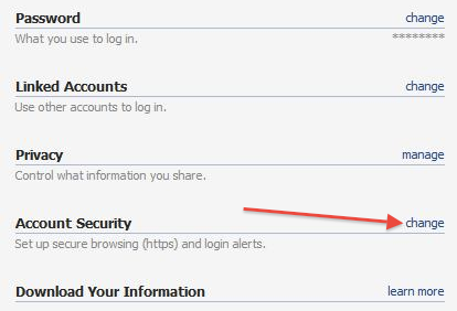 Facebook: How to Enable Secure Browsing (SSL Encryption)