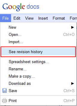 Google Documents Use Revision History To Restore Document For An - Google documents