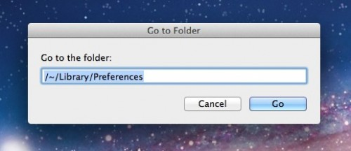 Method for going to User Library in Lion