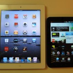 iPad2 - Galaxy Tab Side by Side