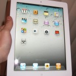 iPad2 White hands on