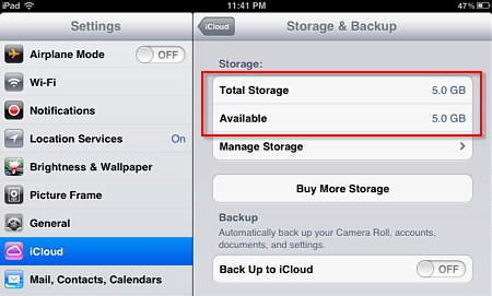 how to clear your icloud storage
