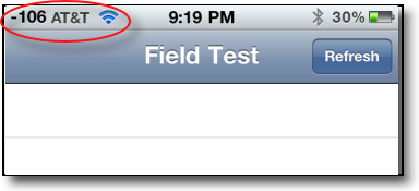 how to enable field test mode