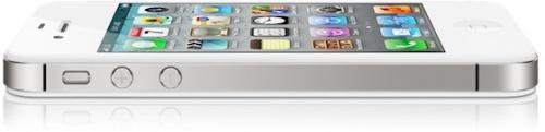 white iphone4s profile