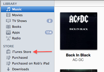 how to change your itunes store