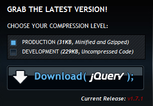 Download Jquery latest release