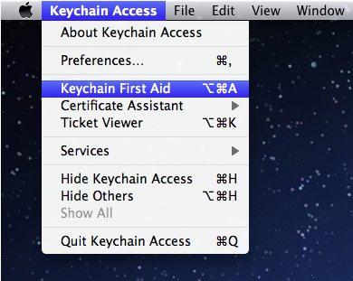 running keychain first aid