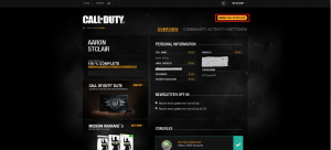 manage call of duty elite