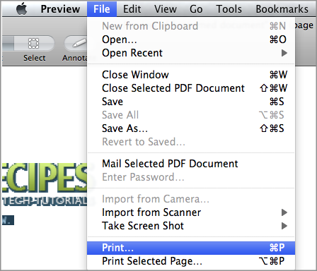 Mac: Print from Any Application in Black and White (Grayscale)