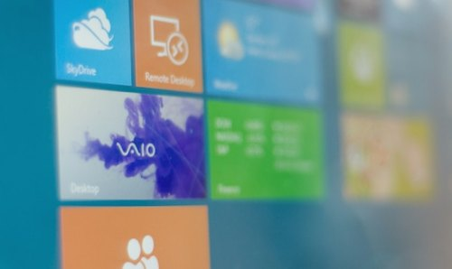 windows 8 on a sony vaio