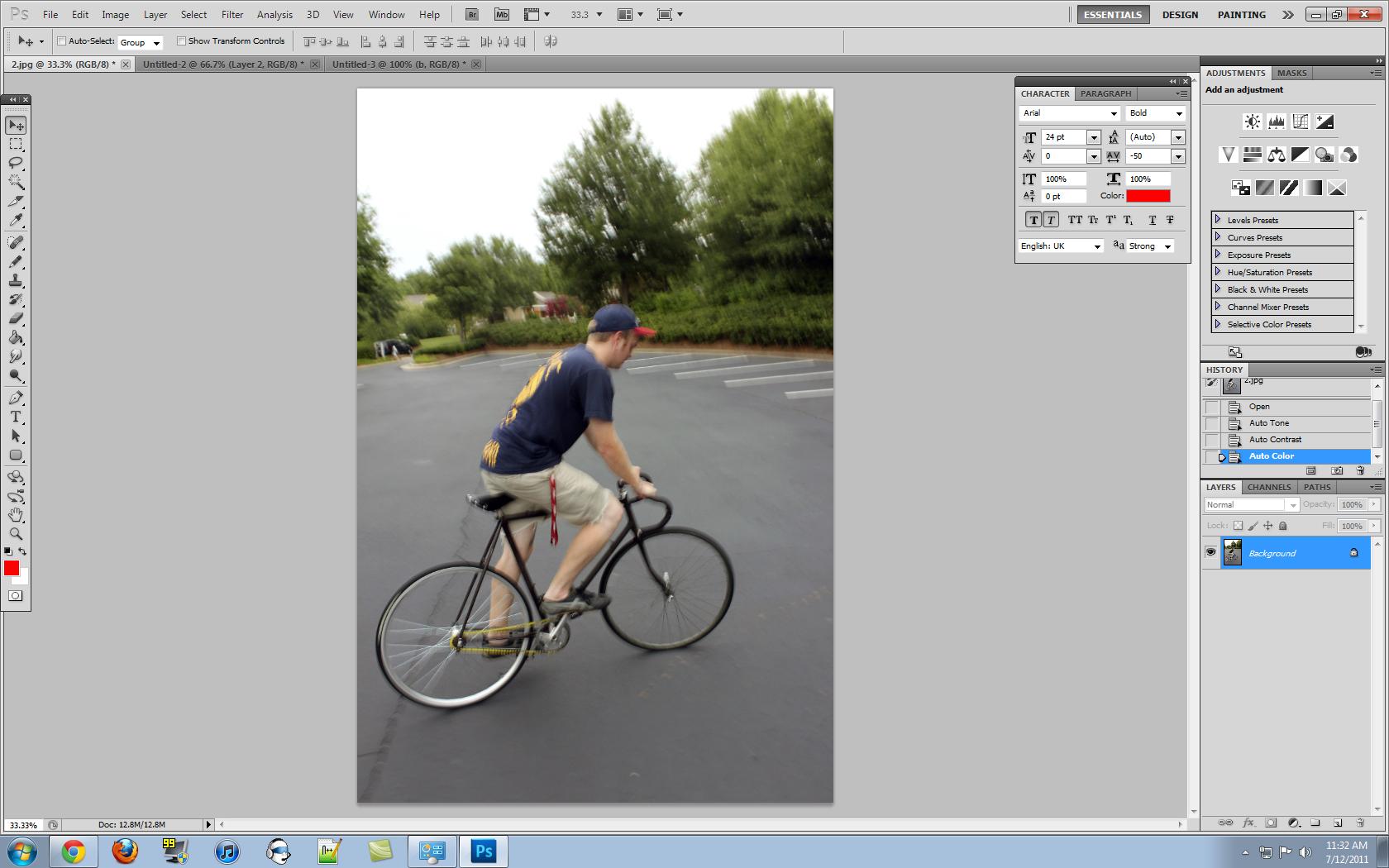 Photoshop: Image Resize vs  Canvas Resize