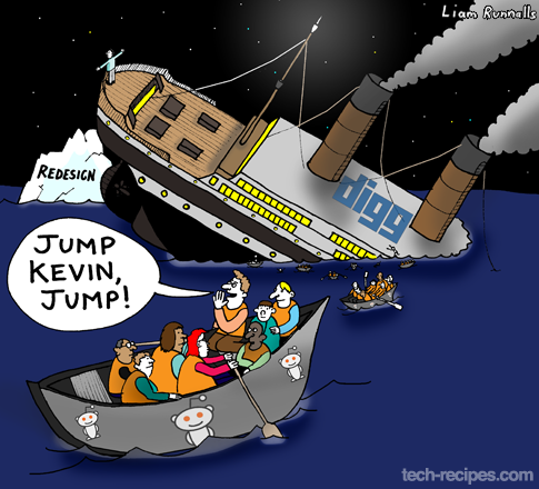 Digg is the Titanic