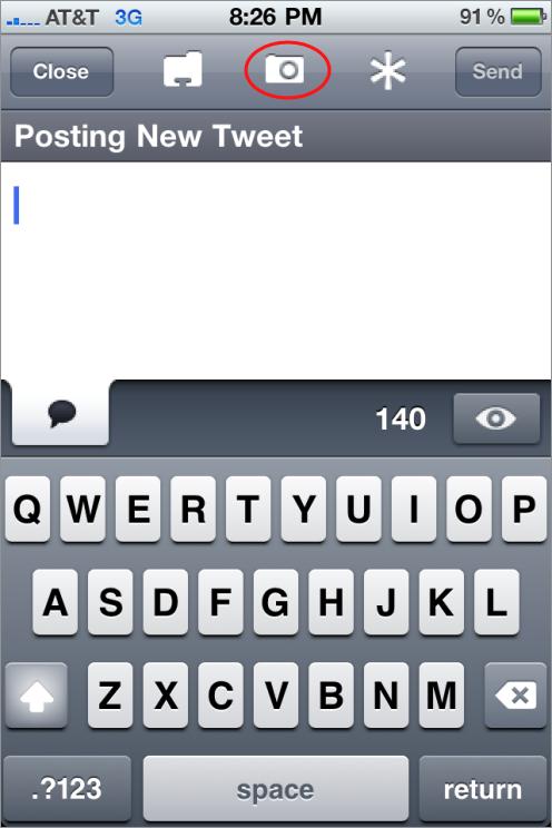 uploading images through twitterrific