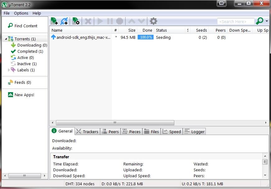 Utorrent resume transmission